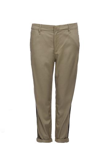 Rag & Bone Twil Cuffed Crop Pants Slide 1
