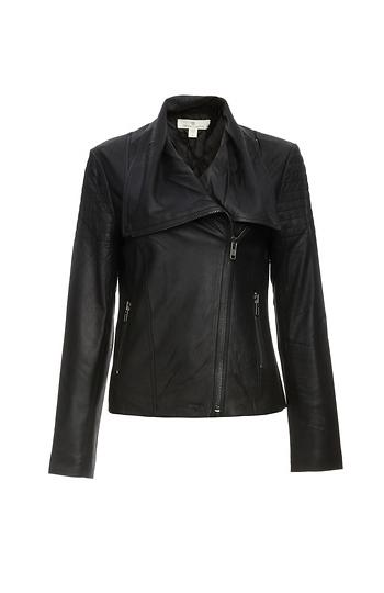 Dakota Collective Peyton Soft Leather Moto Jacket Slide 1