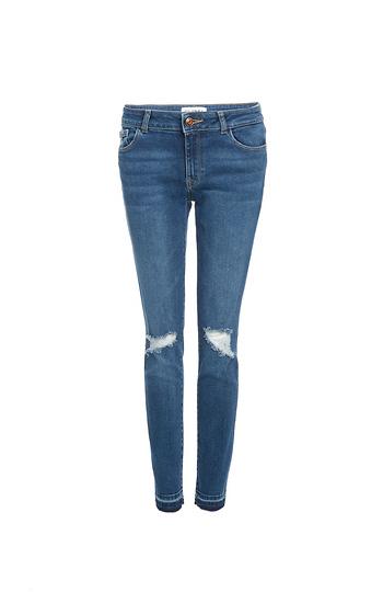 DL1961 Maragaux Distressed Instasculpt  Ankle Skinny Jeans Slide 1
