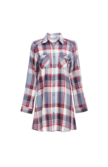 Jack by BB Dakota Rocco Plaid Tunic Slide 1