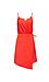 Milly Sleeveless Asymmetrical Wrap Dress Thumb 1