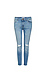DL1961 Florence Instasculpt Distressed Cropped Jeans Thumb 1