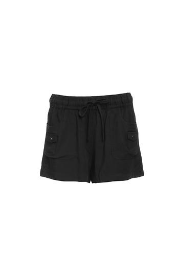 BB Dakota Kayla Tie Waist Shorts Slide 1