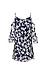 Priya Printed Cold Shoulder Dress Thumb 2