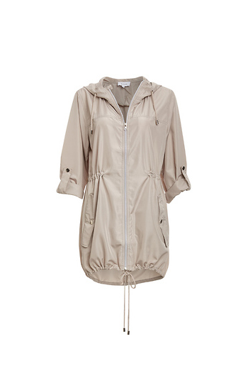 Waverly Hooded Lightweight Anorak Jacket Slide 1