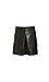 Milah Center Pleat Faux Leather Skirt Thumb 1