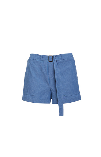 Milani Adjustable Waist Denim Short Slide 1