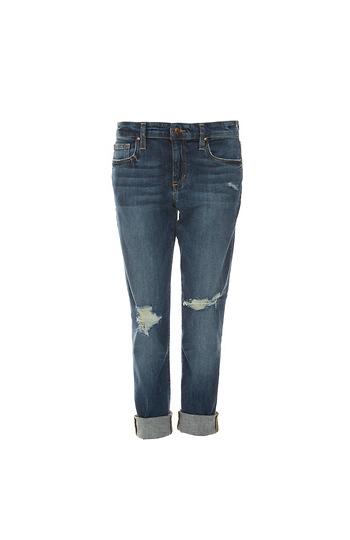 Joe's Jeans Slim Boyfriend Cuffed Jeans Slide 1