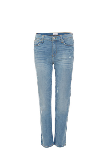 Hudson Zoeey Mid Rise Crop Slim Straight Jeans Slide 1
