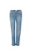 Hudson Zoeey Mid Rise Crop Slim Straight Jeans Thumb 1