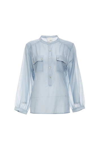 GREYLIN Zelena Cotton/Silk Blend Shirt Slide 1