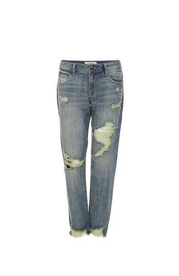 Hidden Jeans Distressed Straight Jeans Slide 1