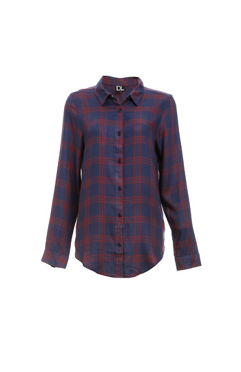 Dolly Plaid Button Up Shirt Slide 1