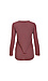 Stateside Long Sleeve Striped Lace Up Knit Top Thumb 2