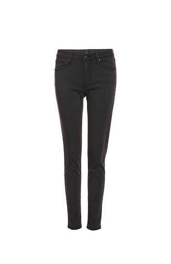 Just Black Enna High Waist Ankle Skinny Jeans Slide 1