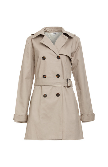Double Breasted Trench Coat Slide 1