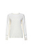 Long Contrast Sleeve Knit Top Thumb 1