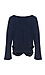 Cena Long Sleeve Twist Front Knit Top Thumb 2