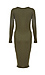 Mica Side Ruched Fitted Dress Thumb 2