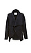 Velvet by Graham & Spencer Draped Faux Sherpa Jacket Thumb 1