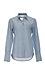 Nili Lotan Woven Chambray Collar Shirt Thumb 1