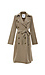 Jack by BB Dakota Double Breasted Belted Trench Coat Thumb 1