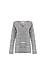 Jack by BB Dakota Marled Knit Back Slit Sweater Thumb 1