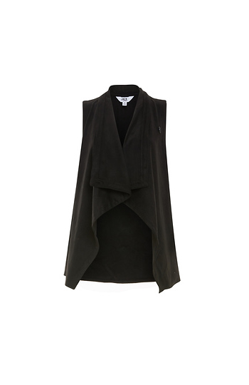 Jack by BB Dakota Soft Front Drape Vest Slide 1