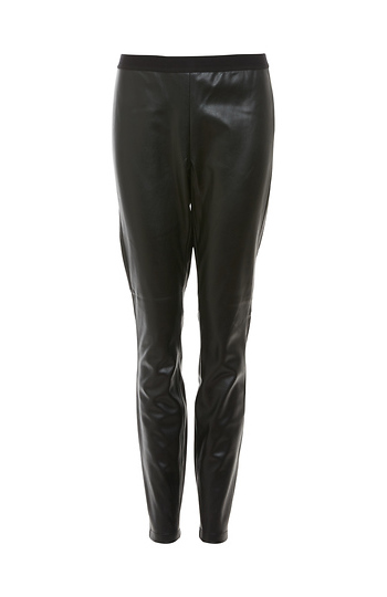 BB Dakota Sleek Faux Leather Leggings Slide 1