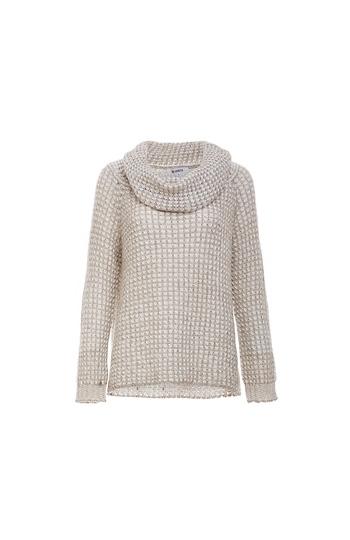 BB Dakota Loose Knit Two Way Sweater Slide 1