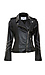 BB Dakota Polish Studded Faux Leather Moto Jacket Thumb 1