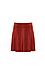 BB Dakota Faux Suede A-line Skirt Thumb 1