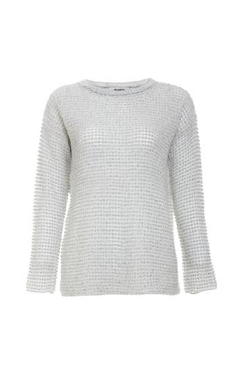 BB Dakota Marled Yarn Sweater Slide 1