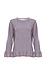 Velvet by Graham & Spencer 100% Cashmere Ruffle Pullover Thumb 1