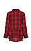 Lake Long Sleeve Plaid Shirt with Ruffles Thumb 2