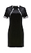 Fitted Lace Sleeve Velvet Dress Thumb 1