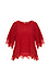 Cold Shoulder Boat Neck Lace Top Thumb 1