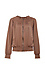 Silky Ruched Bomber Jacket Thumb 1