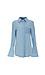 The Fifth Label Bell Long Sleeve Denim Tunic Shirt Thumb 1