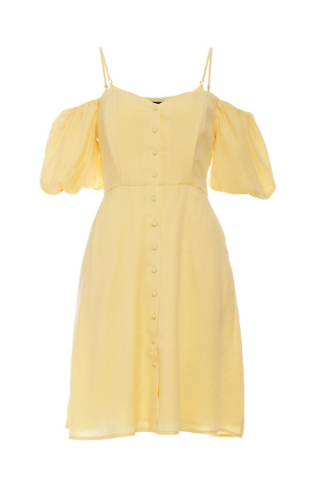 Statement Sleeve Sun Dress Slide 1