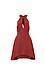 C/MEO Front Keyhole Halter Pocket Swing Dress Thumb 1