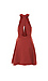 C/MEO Front Keyhole Halter Pocket Swing Dress Thumb 2
