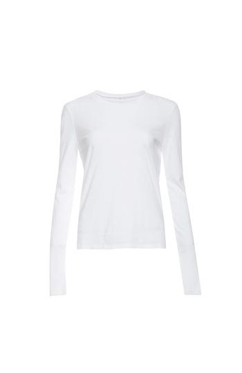 J Brand Cotton Long Sleeve Top Slide 1