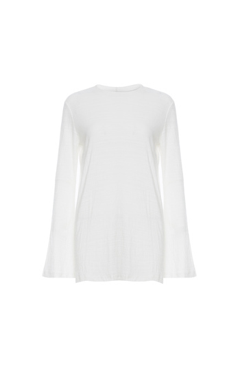 The Fifth Label Bell Sleeve Textured Knit Top Slide 1