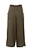 Breezy Self Tie Belted Culotte Thumb 2