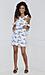 J.O.A Floral Dress Thumb 4
