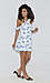 J.O.A Floral Dress Thumb 3