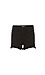 Just Black High Rise Side Slit Short Thumb 1