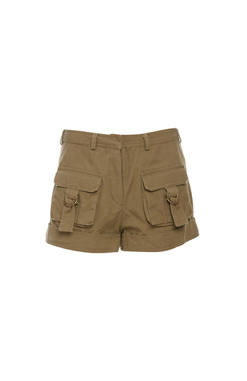 Moon River Cargo Pocket Shorts Slide 1