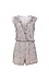 BCBGeneration Carved Blooms Surplice Romper Thumb 1